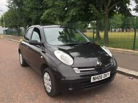 2006 NISSAN MICRA 1.2 BLACK 53K MILES MOT APRIL 17 2 KEYS