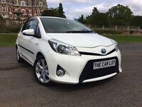 Toyota Yaris 1.5 VVT-i CVT 2012MY T Spirit 17K FTSH **IMMACULATE** 1 OWNER