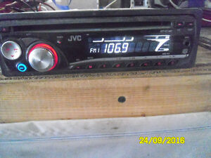 jvc am /fm ,cd and aux cell phone out put