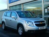 2011 Chevrolet Orlando 1.8 LS 7-SEAT STATION WAGON 5dr (141bhp) MPV Petrol Manu