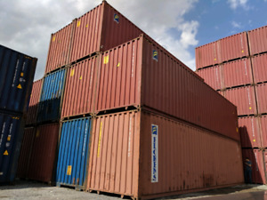 SHIPPING CONTAINERS FOR SALE VARIOUS SIZES AVAILABLE!!!