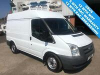 2011 61 FORD TRANSIT 2.2 280 SWB HIGH ROOF WITH AIR CON, 230V INVERTER, FSH DIES