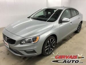 Volvo S60 Dynamic AWD GPS Cuir Toit Ouvrant MAGS 2018