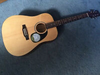 Brand new never used acoustic guitar