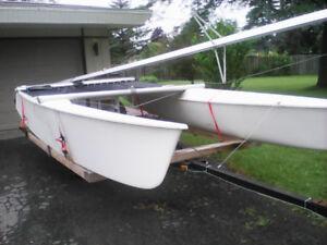 Prindle 18 foot catamaran