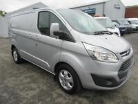 2017 Ford Transit Custom CUSTOM AUTO WITH NAV Diesel silver Automatic