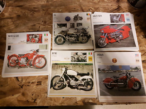 MotorCycle Worlds Atlas / Cards * Collectors*
