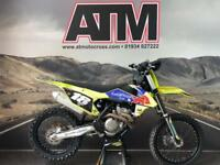 KTM SXF350 2016 MOTOCROSS BIKE, FLO YELLOW PLASTICS, TIDY (AT MOTOCROSS)