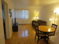 For rent on Sublet 3 1/2 for two months from Jule 1st for $500