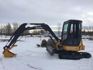 John Deere 35D Mini Excavator (SOLD)