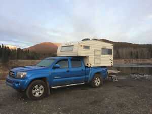 2010 Toyota Tacoma TRD + Canopy + Import Camper