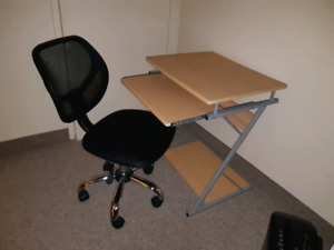 Chair And Computer Table