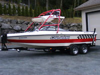 Calabria V-Drive Surf/Wake Boat w/ 270 Hours & New Upholstery