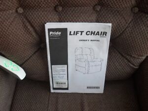 MEDICAL LIFT CHAIR PRICE REDUCED FROM $750 to $600