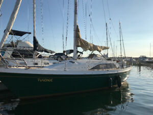 31 ft TANZER SAILBOAT !!
