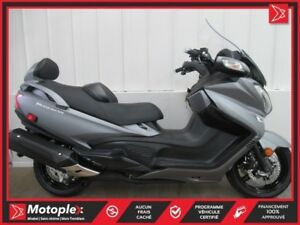 2016 Suzuki Burgman 650 Executive ABS 38$/SEMAINE