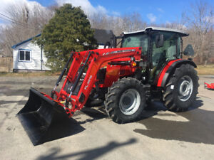 Massey Ferguson 4708 80hp Cab Tractor with Loader