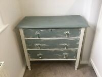 Chest of draws shabby chic style