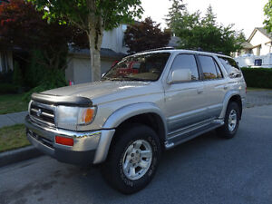 EXCELLENT CONDITION 1997 Toyota 4 Runner LTD SUV 6500.00 O.B.O.