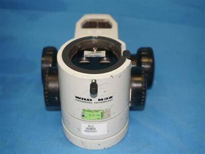 Leica Wild M3z Heerbrugg Stereo Microscope Body W Focusing Mount