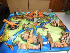 Dinosaurs Collection With Storage Box
