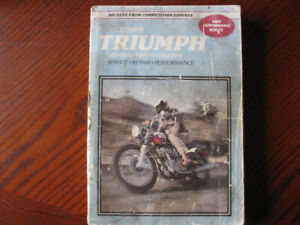 Clymer Triumph motorcycle manual