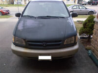 2000 Toyota Sienna, ETested!!!