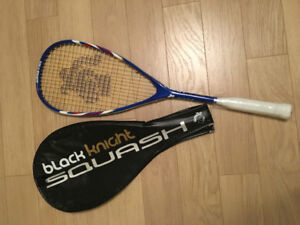 Squash Racquet and Cover - Lightly Used