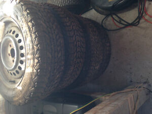 Firestone Winter Tires 195/65R15 London Ontario image 1