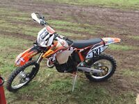 Ktm 150xc 2012 registered as 125 not exc gasgas husky