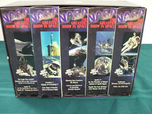 NASA The Greatest Show in Space Box Set of10 VHS tapes Peterborough Peterborough Area image 3