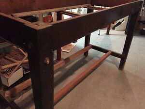 Old work bench / table - $50.00