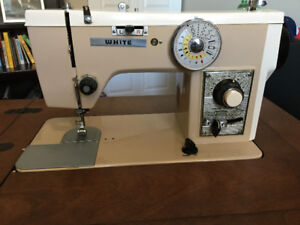 1968 White Sewing Machine