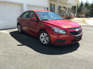 2014 Chevrolet Cruze  1LT-1 Year warranty-I'm Willing to deal
