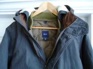Gap Stylish  Boys 3 in 1 Parka Jacket for 12-15 years old