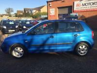 2004(54) Volkswagen Polo 1.4 auto Twist Blue 5dr Hatch, **ANY PX WELCOME**