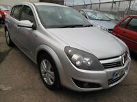 2008 08 Vauxhall Astra 1.4i 16v SXi 5 Door 77,328miles, Silver, Full Mot
