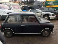 Classic Austin mini project 1.0 automatic