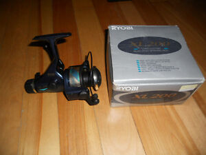 Moulinet a peche , neuf Ryobi, legers/moyenne, Fishing reel new