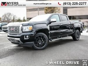 2019 GMC Canyon   crew, blacked out, v6, loaded