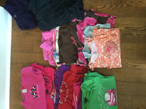 BAG OF CLOTHES For GIRLS SIZES 5/6 over 40 pieces!