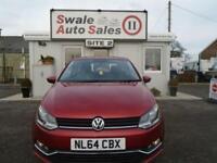 2014 VOLKSWAGEN POLO 1.2 SE TSI - 8,378 MILES! - FULL VW SERVICE HISTORY-£20 TAX