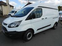 2015 Ford Transit Custom 290 Eco-Tech TDCI L2 H2 Diesel Van * ONLY 20K MILES *