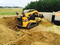 Bobcat/skid steer service $80/hr