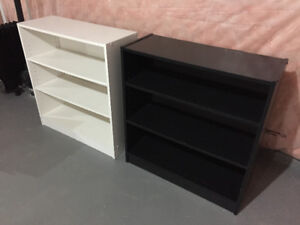 Bookcase - Black-Brown and White - $ 80 (Both)