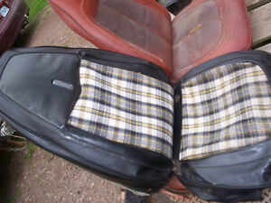 1970 Dodge Demon seat coverings/1956 NSU Prima Scooter Project