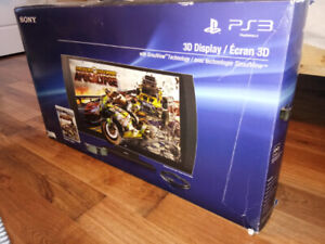"Sony PS3 3D 24"" TV"