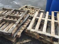Pallets free to pick up