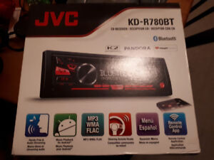 Jvc bluetooth car sterio