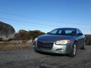 2005 Chrysler Sebring 4-door sedan